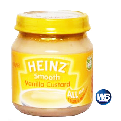 Heinz Smooth Vanilla Custard 110 gm 1012201