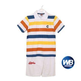Little shop Multi Color Cotton 2 Pieces For Boy