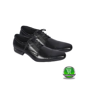 Black Leather Formal Shoe (Orion Footwear)