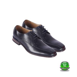 Black Leather Lace Ups Formal Shoe (Bostonian)
