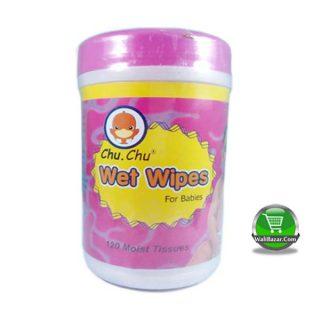 Chu. Chu wet wipes for babies 120 moist tissues