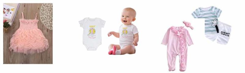 Newborn baby clothes in bangladesh