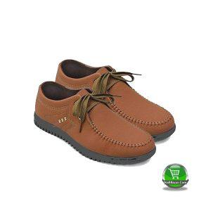 PU Boat Shoe (Fine FIT - Brown)
