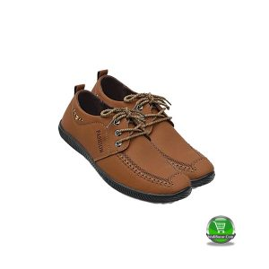 PU Boot Shoe(Sky Sea-Dark Brown)