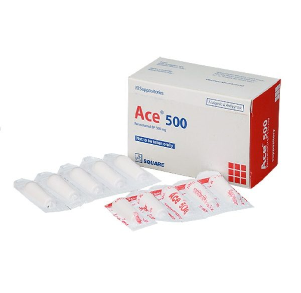 Ace Suppository 500mg 1 stick