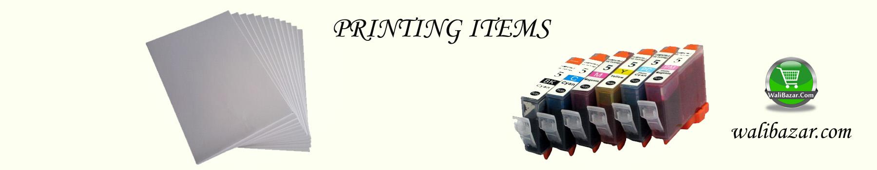 PRINTING ITEMS