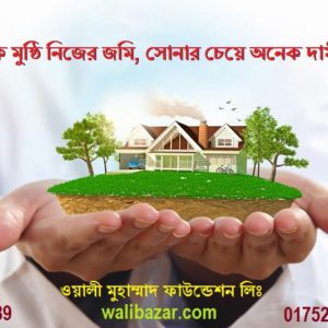 Land For Sale in Muhammad Nagor by Installment 5000 Tk monthly in Dhaka.