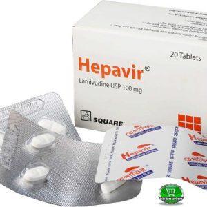 Hepavir®100mg 4 pis