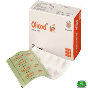 Olicod®Cod Liver Oil 10pis