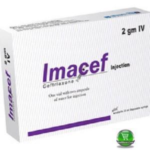 Imacef 2gm IV