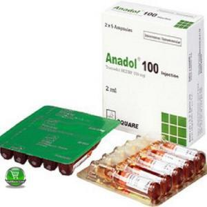Anadol 100mg/2ml