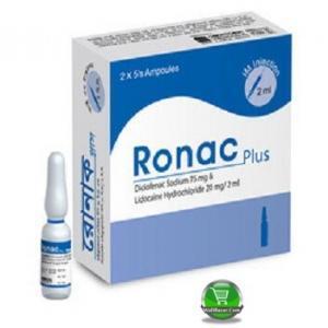 Ronac plus 20mg/2ml