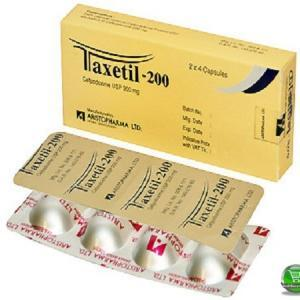 Taxetil 200mg