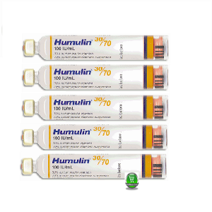Humulin SC Injection 30%+70% in 100 IU/ml