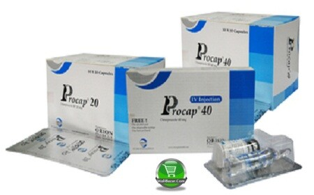 Procap 40mg/vial