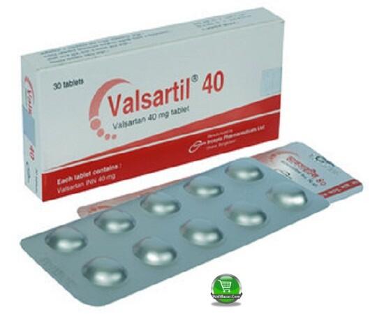 Valsartil 40mg