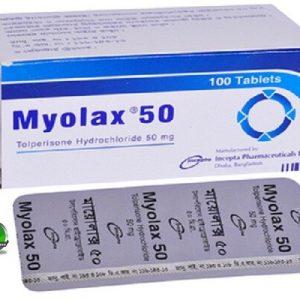 MYOLAX 50mg