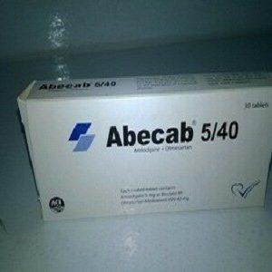 Abecab 5/40 mg