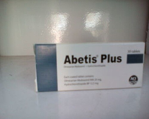 Abetis Plus 12.5mg
