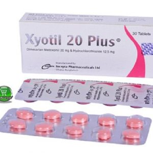 Xyotil 20 plus 12.5mg