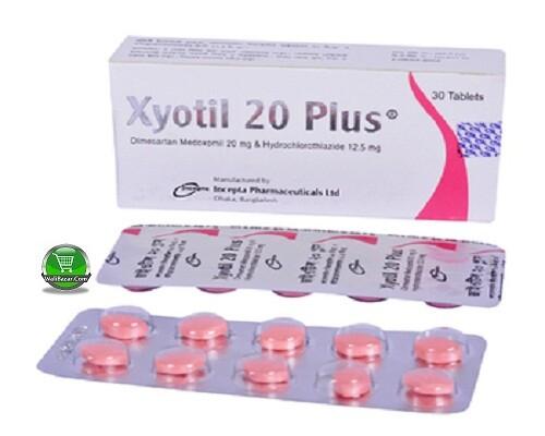 Xyotil 20 plus 12.5mg