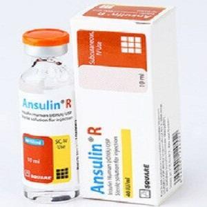Ansulin R (40 IU/ml) Pen cartridge