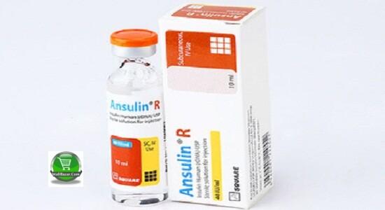 Ansulin R (40 IU/ml) Pen cartridge