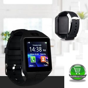 Trendy Sim Supported DZ09 Smart Watch