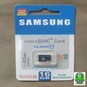Samsung 16GB micro SD Memory Card