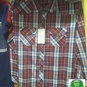 Formal Check Shirt For Man