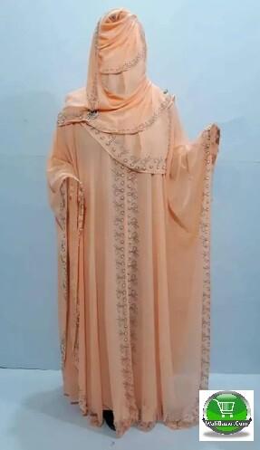 Light pink Islamic dress Avea for girl