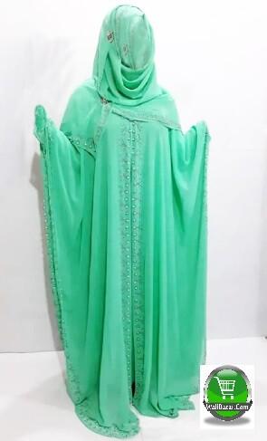 Light Green Islamic dress Avea for girl