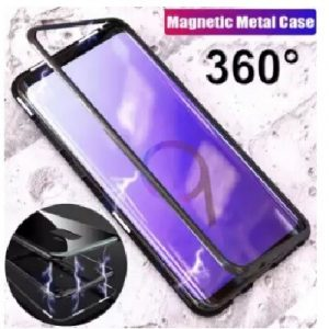 Magnetic Adsorption Ultra Slim Metal 360 Case