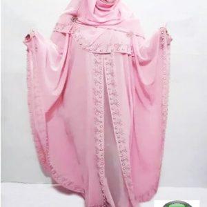 Pink Color Islamic Dress Avea for girl
