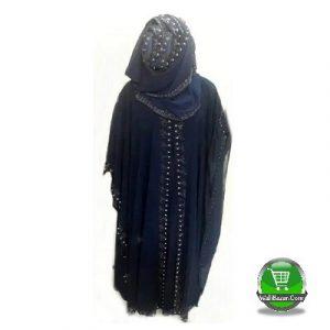 Dark blue Islamic dress Avea for girl