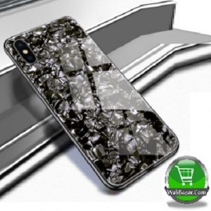 Luxury Tempered Glass Case iPhone Xs