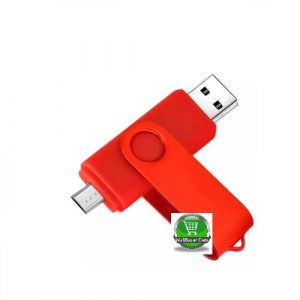 64 GB OTG Pendrive - Red