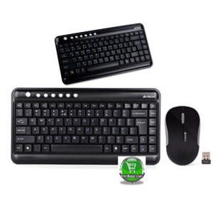 A4 Tech 330WBG Wireless Keyboard