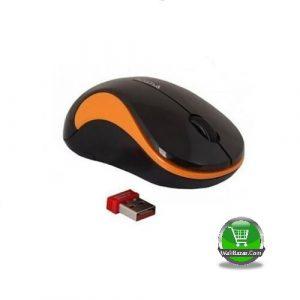 A4 Tech Wireless Mouse Black Orange