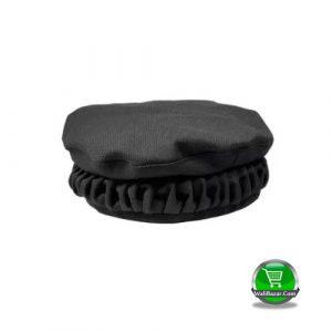 Black Cotton Kashmiri Pakol Cap