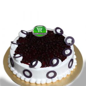 Blueberry Vanilla Sponge Cake