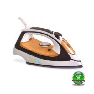 ECO Steam Iron, white Orange