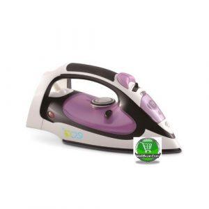 ECO Steam Iron, Purple