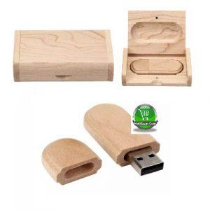 Wooden 16GB Flash Drive Pen Drives