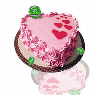 Love Vanilla Cream Cake