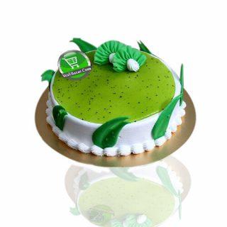Green Vanilla Cream Cake