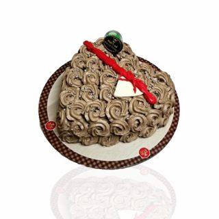 Love Shape Vanilla Coffee Cream cake