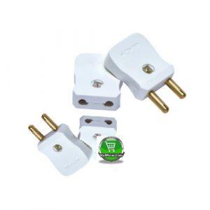 Poka 2 Pin Plug Flat