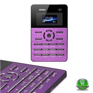 Purple color Card Phone