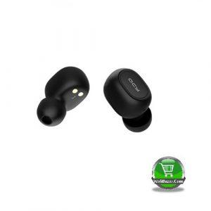 QCY Bluetooth Black Headphone